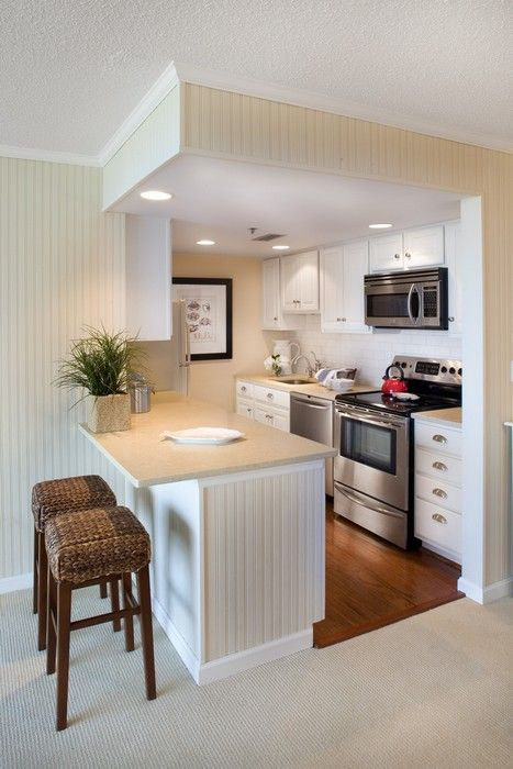 Elegant Small Cube Kitchen