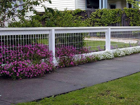 классический белый забор