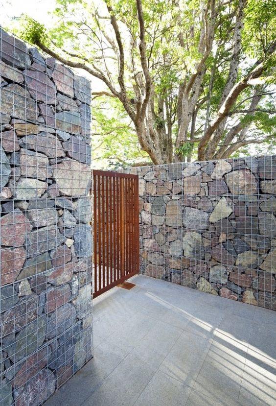 габионные стены