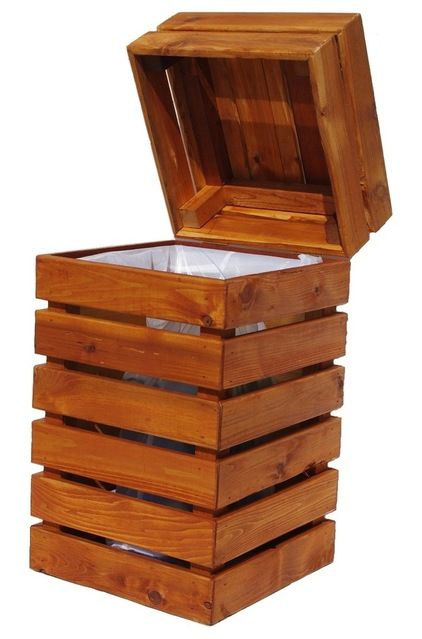 pallet trash box
