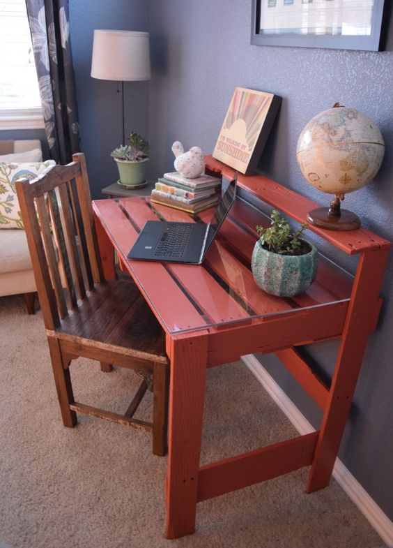 pallet study desk
