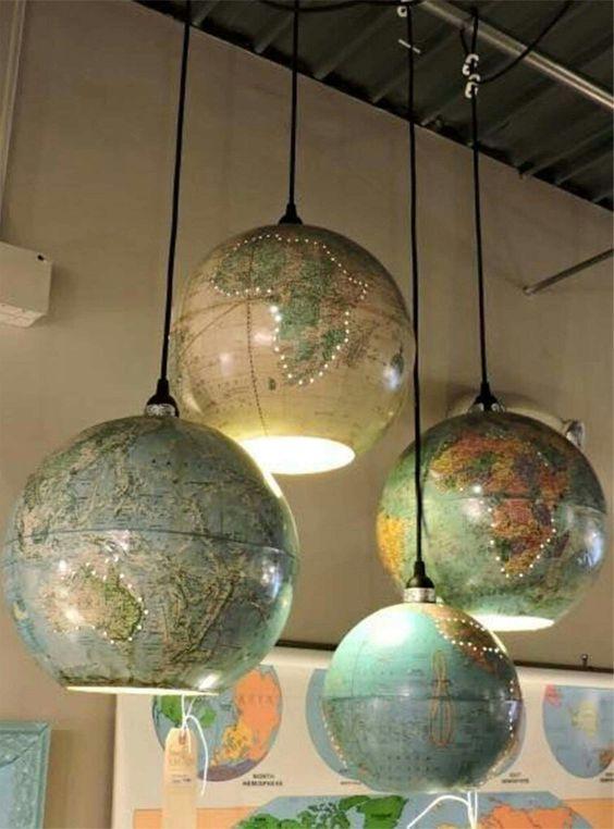 globe pendant lamps