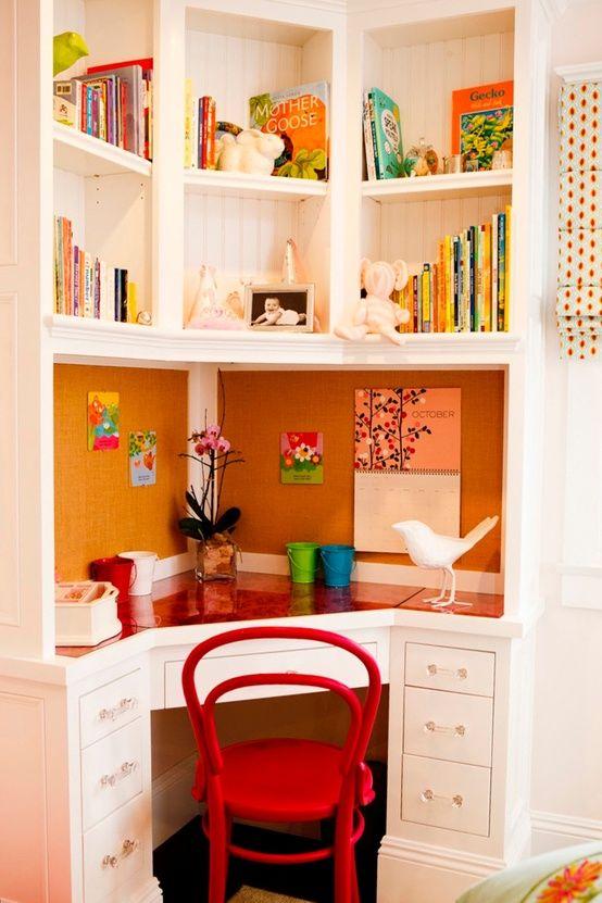 corner study nook