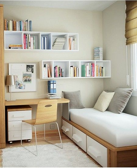 20 Best Small Modern Bedroom Ideas: 50 Nifty Small Bedroom Ideas And Designs