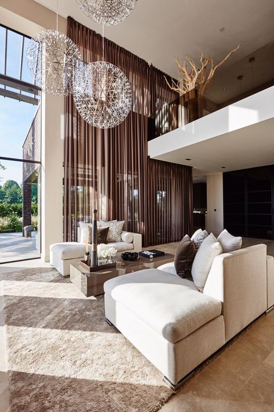Perfect Grand Living Room