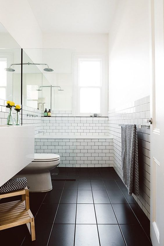 modern urbane bathroom