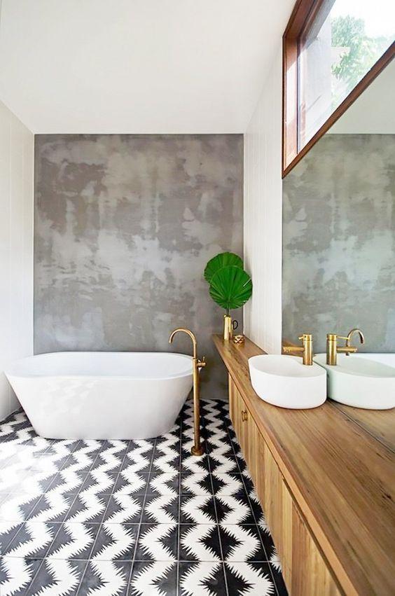 45 Fantastic Bathroom Floor Ideas And Designs Renoguide