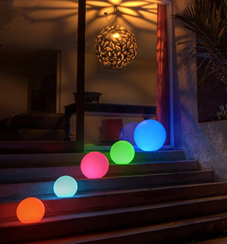 LED glowing ball outdoor lights