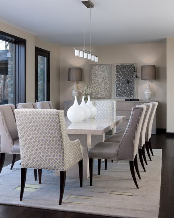 classic modern dining room