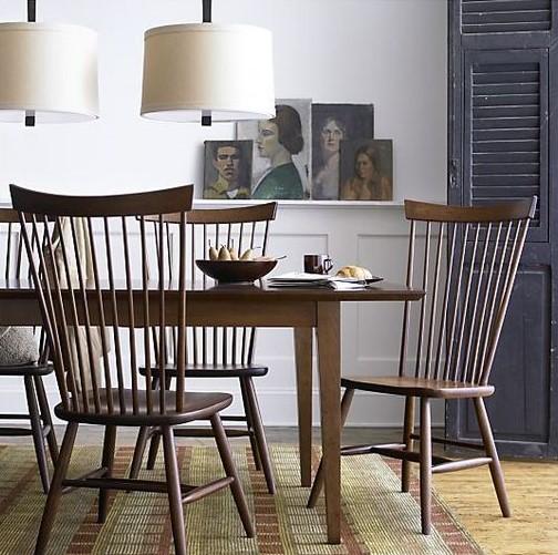 modern shaker dining room