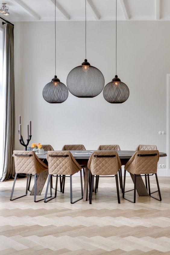 64 modern dining room ideas and designs renoguide beautiful modern dining room aloadofball Choice Image