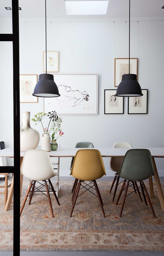 Colourful Modern Dining Room