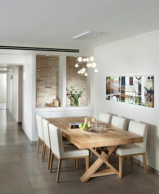 64 modern dining room ideas and designs renoguide for Modern dining room designs 2013