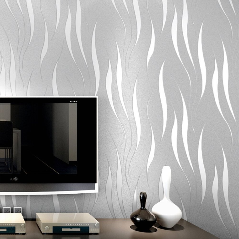 elegant wallpaper design for home