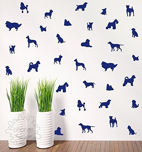 dog shapes wallpaper