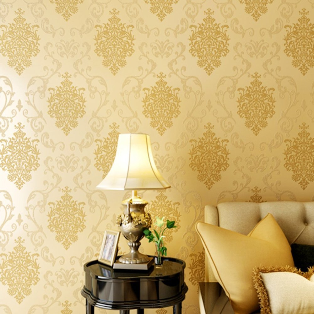 classic wallpaper design damask