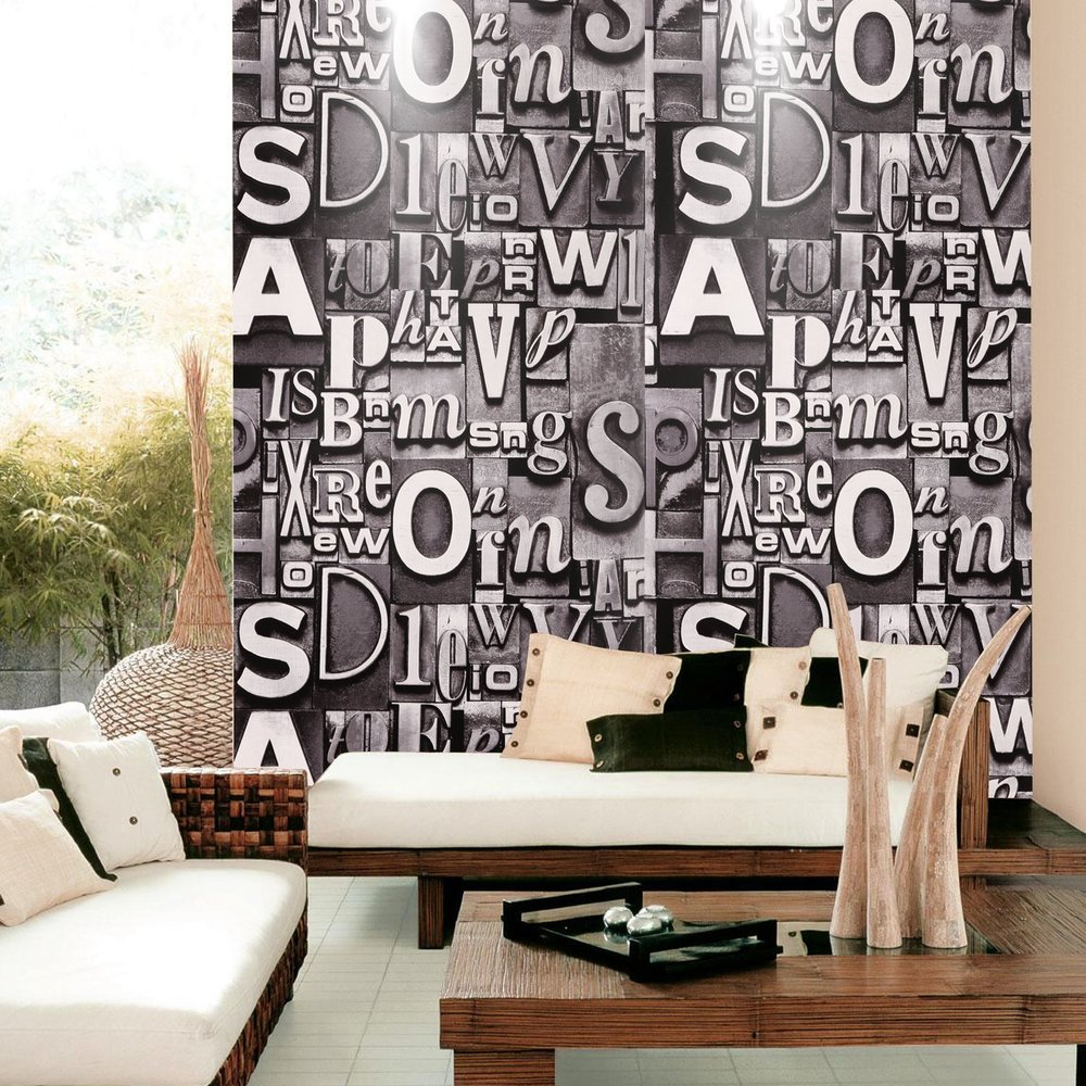 bold wallpaper design for home