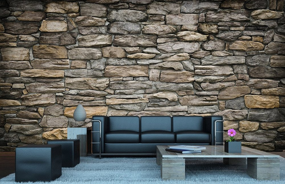 stone wallpaper design