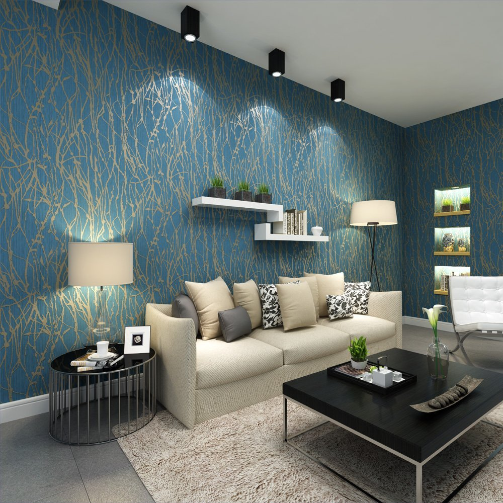 luxurious wallpaper design for home