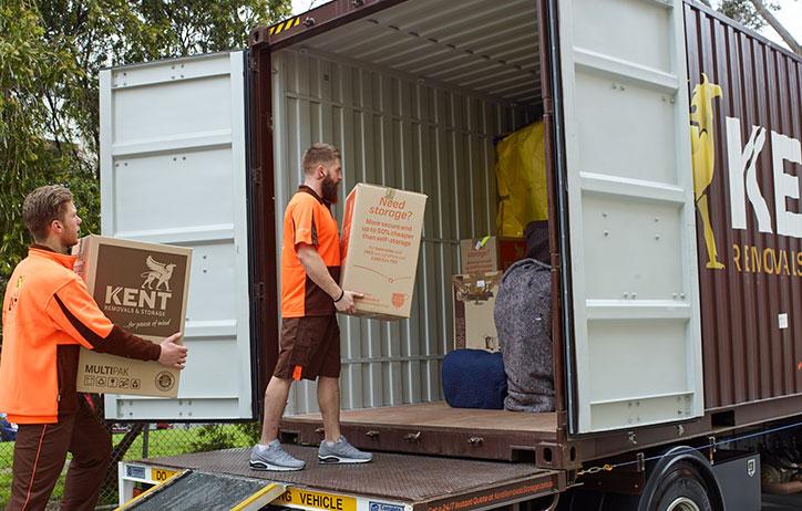 Kent removalist storage services