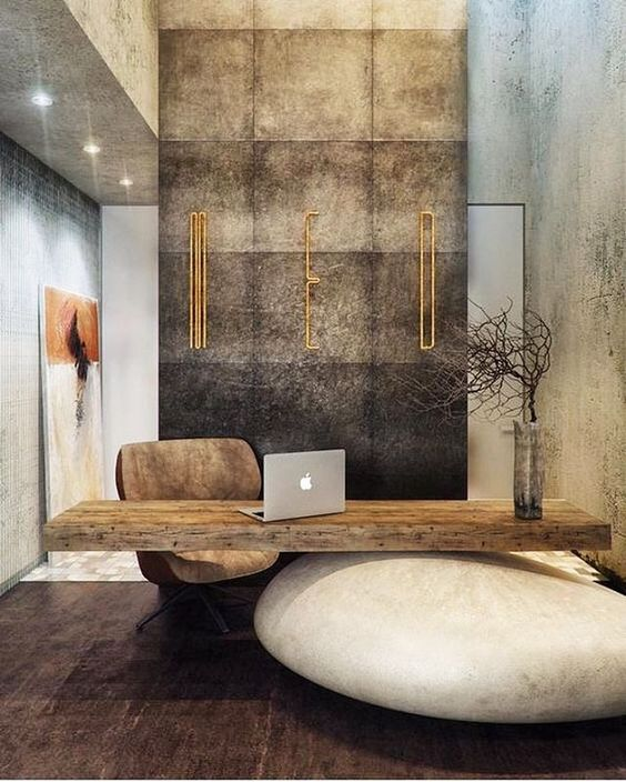 luxurious home office