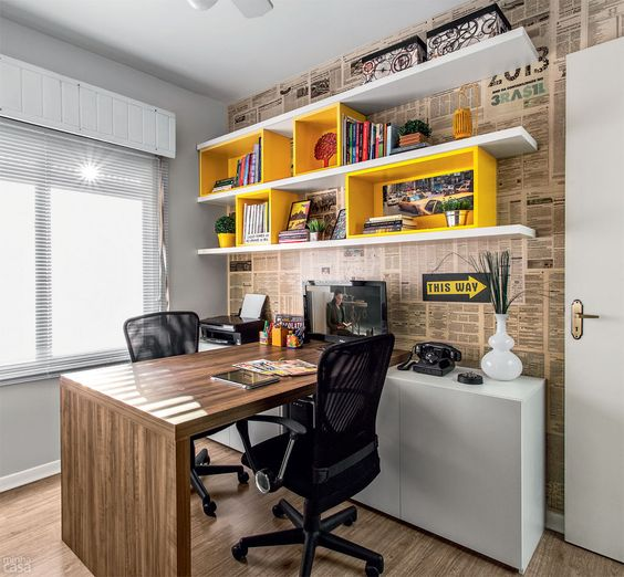 modern academic home office