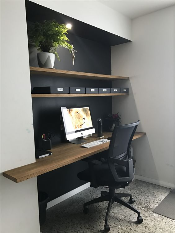 modern minimalist home office