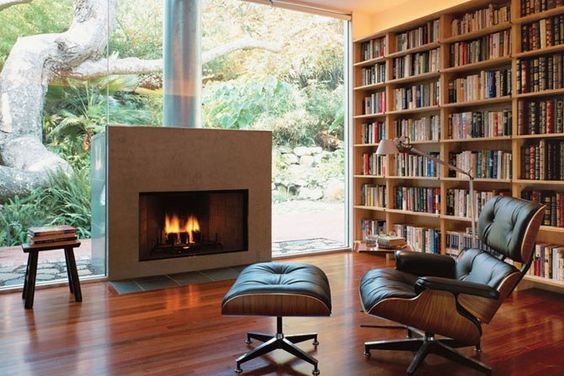 home library and office combo