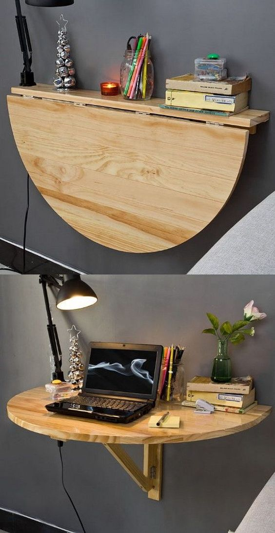 collapsible home office desk
