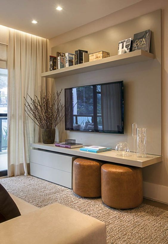 small living room entertainment centre