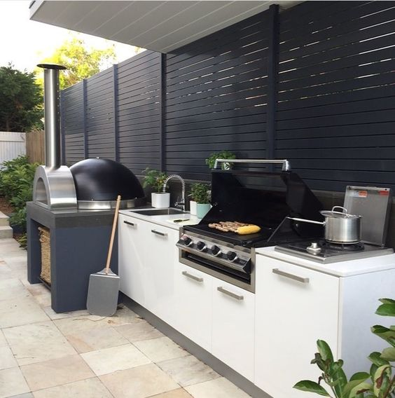 Contemporary Outdoor Kitchen: 45 Exceptional Outdoor Kitchen Ideas And Designs