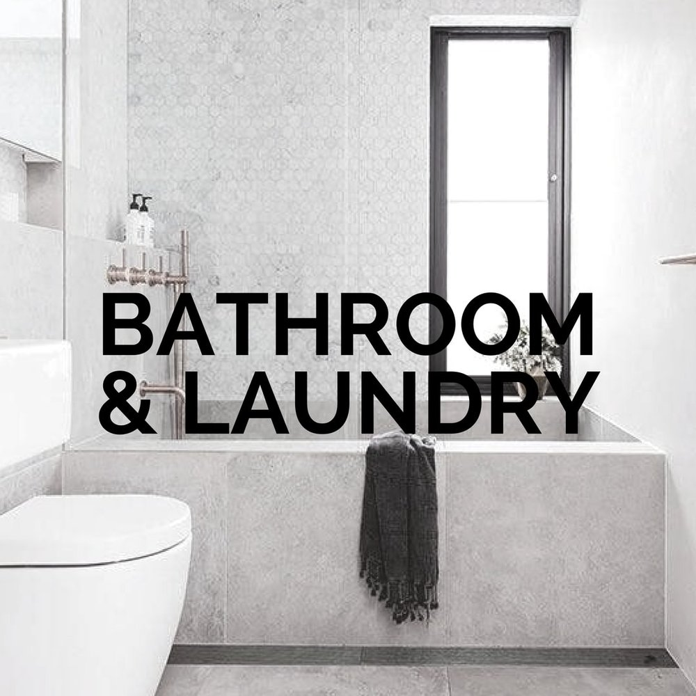 Bathroom and Laundry Ideas