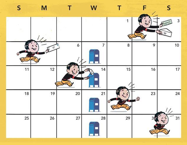 weekly payment calendar