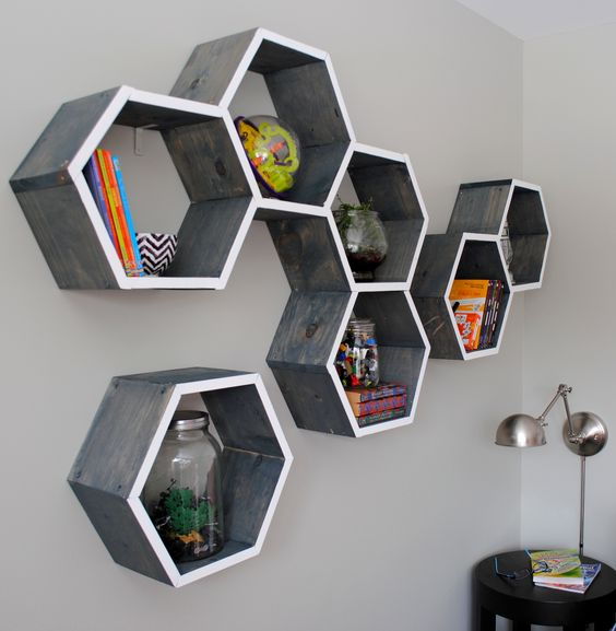 beehive wall rack