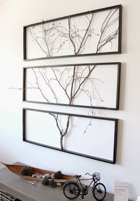 framed twig branch
