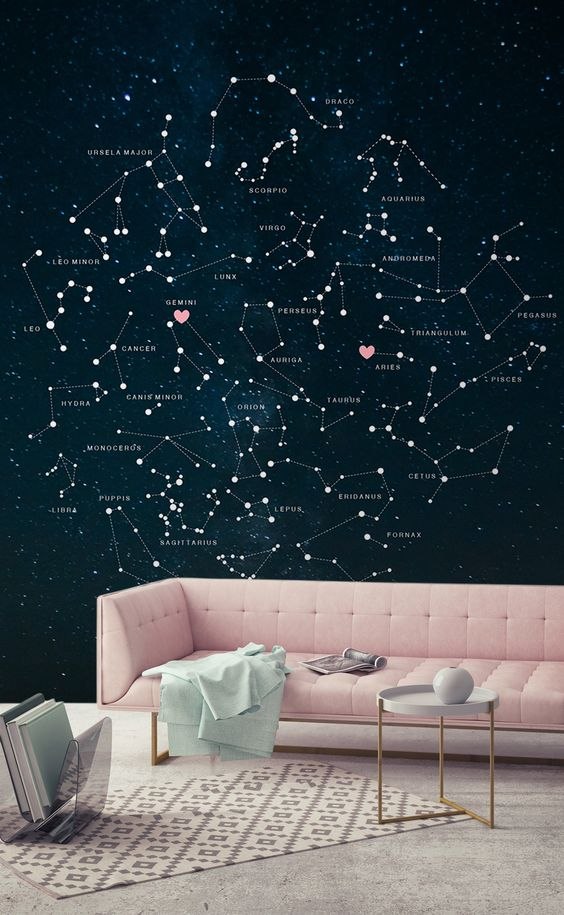 starry wall