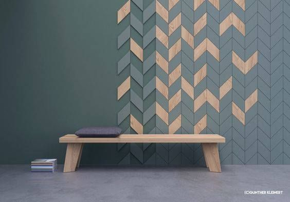 chevron wall puzzle