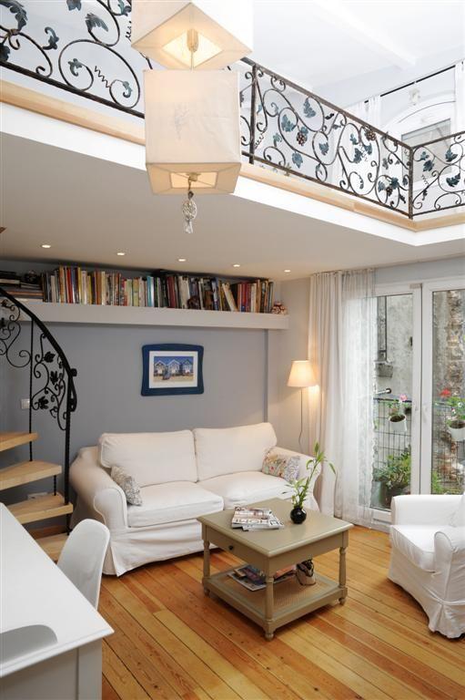 tiny house with filigree balcony