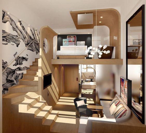 trendy apartment