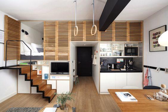 space efficient apartment