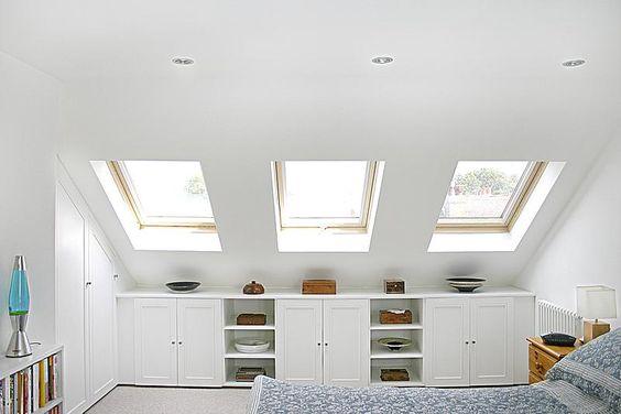 loft bedroom skylights