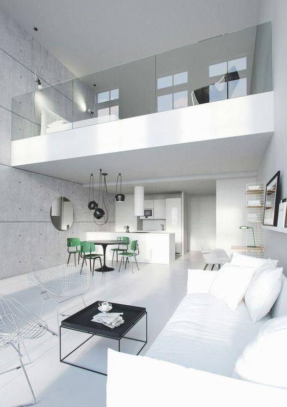 elegant white apartment & 45 Brilliant Loft Bedroom Ideas and Designs \u2014 RenoGuide - Australian ...