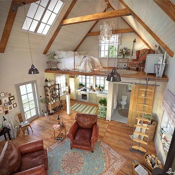 countryhouse with loft