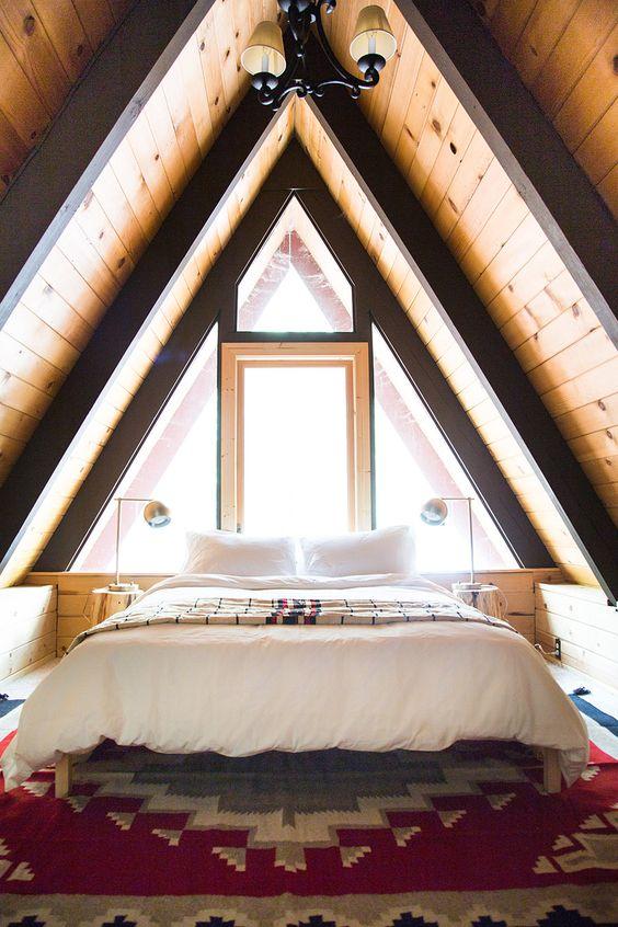mountainhouse attic bedroom