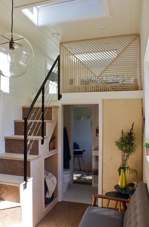 tiny house loft bedroom