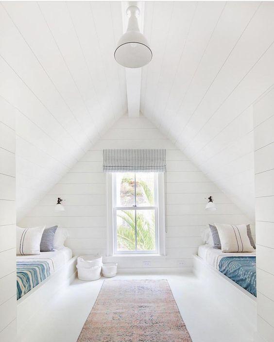 two-bed loft bedroom