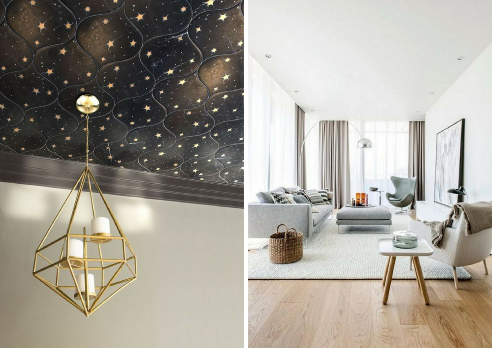 maximalist ceiling vs minimalist ceiling