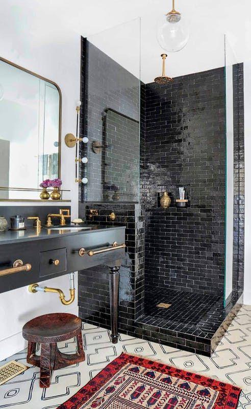 maximalist bathroom