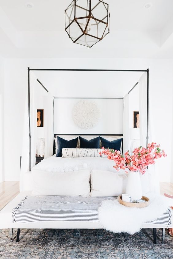 charming minimalist bedroom