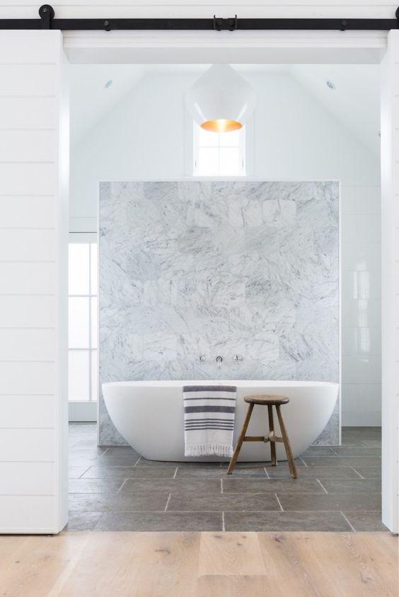 luxurious minimalist bathroom